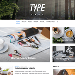 Type Wordpress Theme