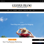 Ultra Lite Blog Wordpress Theme