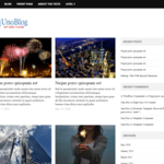 UnoBlog Lite WordPress Theme