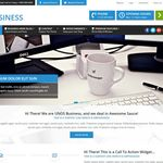 Unos Business WordPress Theme