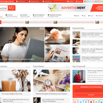Unos Magazine Vu WordPress Theme