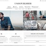 Unos Publisher WordPress Theme