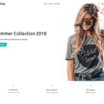 ushop WordPress Theme