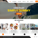 Utsav Event Planner Wordpress Theme