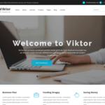 Viktor Lite WordPress Theme