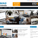VioMag Wordpress Theme