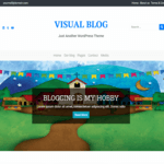 Visual Blog WordPress Theme
