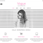 Vogue Wordpress Theme