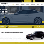 VW Driving School WordPress Theme