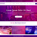 VW Event Planner Wordpress Theme