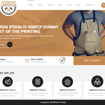 VW Furniture Carpenter Wordpress Theme
