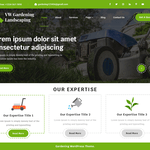 VW Gardening Landscaping Wordpress Theme