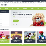VW Kids Wordpress Theme