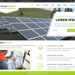 VW Solar Energy Wordpress Theme