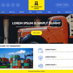 VW Transport Cargo Wordpress Theme