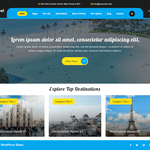 VW Travel Wordpress Theme