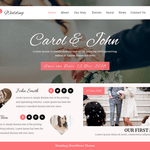 VW Wedding WordPress Theme