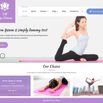 VW Yoga Fitness Wordpress Theme