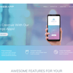 Web App Wordpress Theme