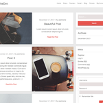 WhiteDot Wordpress Theme