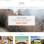 Whitish Lite WordPress Theme
