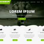 Wild Safari Lite Wordpress Theme