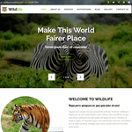 Wildlife Lite Wordpress Theme