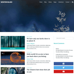 Winter Blues Wordpress Theme