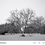 Winter Solstice Wordpress Theme