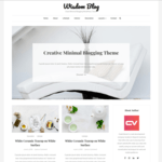 Wisdom Blog Wordpress Theme