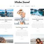 Wisdom Journal Wordpress Theme