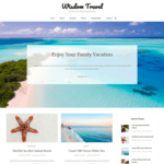 Wisdom Travel Wordpress Theme