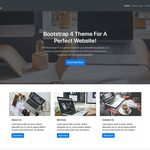 WP Bootstrap 4 Wordpress Theme