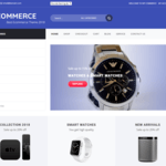 WP Commerce Wordpress Theme
