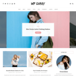 WP Diary Wordpress Theme