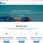 WP iClean Responsive Wordpress Theme