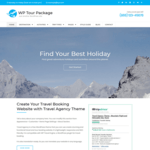 WP Tour Package Wordpress Theme