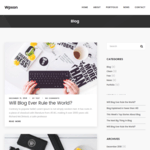 Wpxon Blog Wordpress Theme