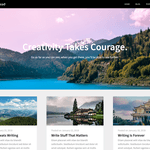 Write And Read Wordpress Theme