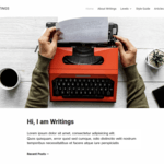 Writings WordPress Theme