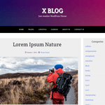 X Blog Wordpress Theme