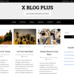 X Blog Plus WordPress Theme