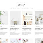 Yugen Wordpress Theme