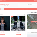 Zen Shop Store Wordpress Theme