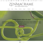 ZenMacrame Wordpress Theme