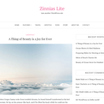 Zinnias Lite WordPress Theme