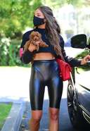 olivia culpo looks fantastic as she visits a friend's house in woodland hills 3. o 128w 186h