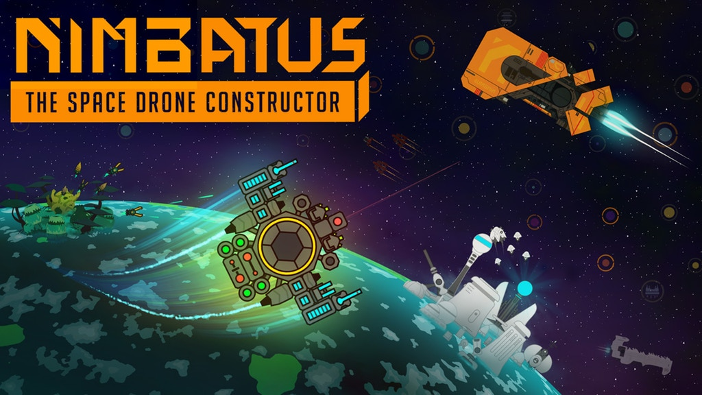 Download Nimbatus The Space Drone Constructor-PLAZA
