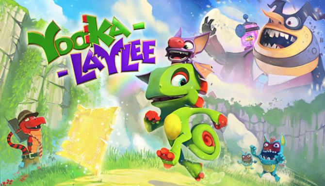 Download Yooka-Laylee and the Impossible Lair (N.S.I.L. Update + DLC + Bonus Content) [FitGirl Repack]