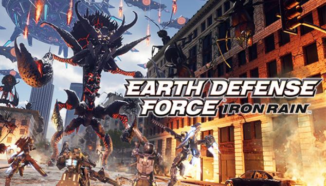 Download EARTH DEFENSE FORCE IRON RAIN-CODEX + Update v1.01-CODEX